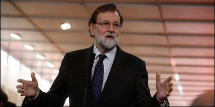 Mariano Rajoy, el presidente del Gobierno de España (PP).