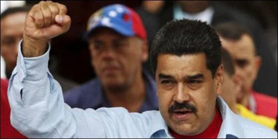 El tirano chavista Nicolás Maduro.