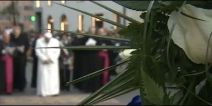 El Papa rinde homenaje a la Inmaculada