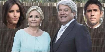 Ana Boyer, Fernando Verdasco y los padres.