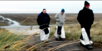 Fotograma del documental 'La isla de los monjes'