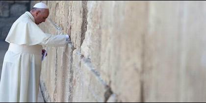El Papa Francisco vuelve a pedir la paz en Jerusalén
