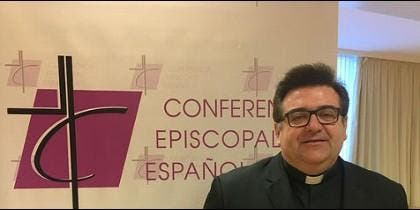 Raúl Tinajero, responsable de pastoral juvenil
