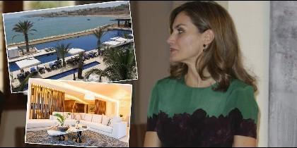 Letizia en Dakar y el  hotel donde se aloja