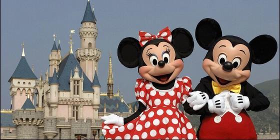 Mickey y Minnie Mouse de Disney.