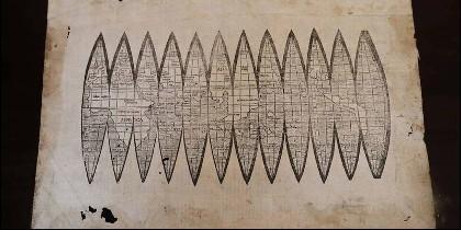 Este mapa es el primero de la Historia, que nombró 'América' al Nuevo Mundo.
