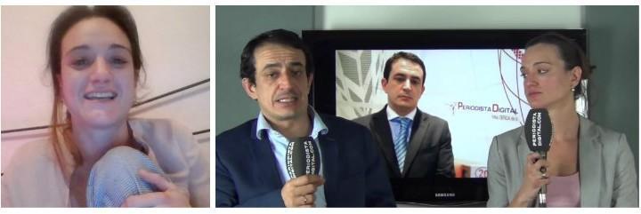 Silvia Charro y Simón Pérez, los expertos inmobiliarios más cachondos.