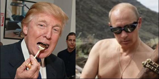 Donald Trump (EEUU) y Vladimir Putin (RUSIA).