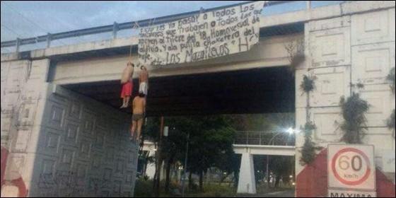 Asesinados por narcos rivales en Tepic, capital del estado mexicano de Nayarit.