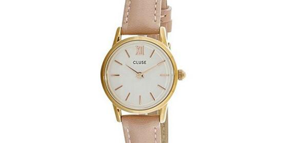 3abc862d14fe Un reloj con caja de acero inoxidable con dial color blanco y un diámetro  de 24 milímetros. No es grande así que es ideal para regalar a personas que  ...