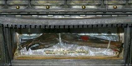 Brazo incorrupto de San Vicente Mártir
