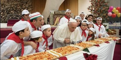 Felicidades, Papa Francisco