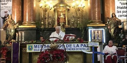 Misa del Padre Ángel en San Antón