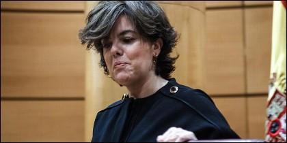 Soraya Saenz de Santamaria (PP).