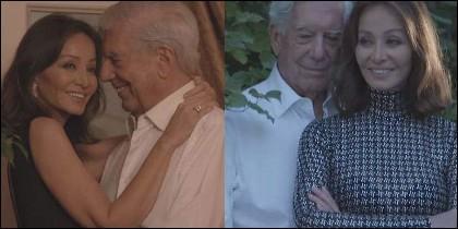Isabel Preysler con Mario Vargas Llosa.