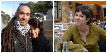 Rodrigo Lanza junto a su madre y Beatriz Talegón.