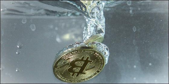 La moneda virtual Bitcoin.