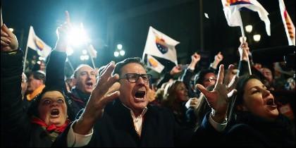 Ciudadanos: catalanes que se sienten españoles.