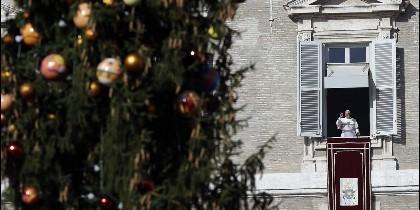 El Papa en la ventana, en Navidad
