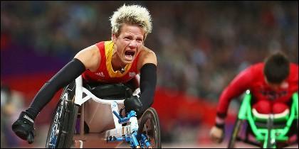 Marieke Vervoort, la mejor de los juegos Olímpicos de 2012.