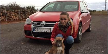 Andrea, la chica asesinada contra una gasolinera de Benicassin.