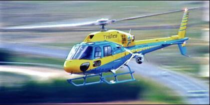 El helicóptero 'Pegasus' de la DGT.