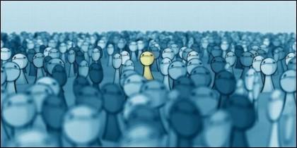 Sociedad, multitud, individuo, familia y soledad.