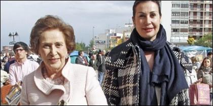 Carmen Franco y Carmen Martínez-Franco.
