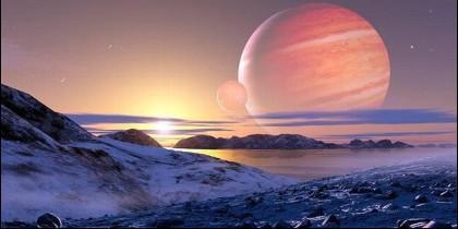 La Nasa buscará vida en Europa, satélite de Júpiter.