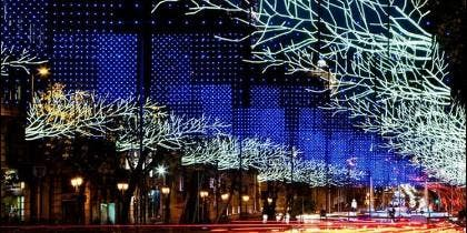 Madrid en Navidad.
