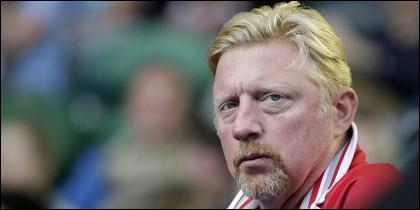 El tenista alemán Boris Becker.