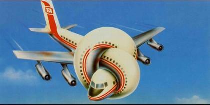 El avión de 'Aterriza como Puedas'.