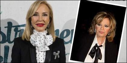 Carmen Lomana y María Teresa Campos.