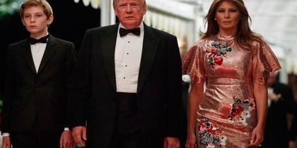 Fiesta Trump año nuevo