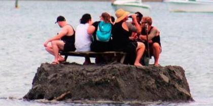 La isla de los borrachos.