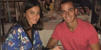 Lucas Vazquez va a ser padre