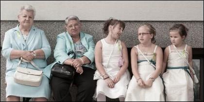 Viejos y niños, demografía y natalidad.