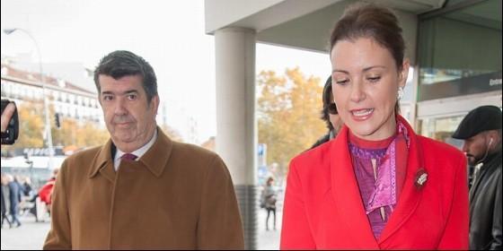 Gil Silgado y María Jesús Ruiz.