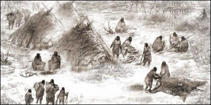 Los primero pobladores de América.