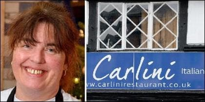 Laura Goodman, la chef del 'Carlini'.