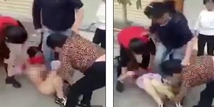 Ataque a mujer en China