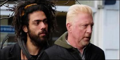 Boris Becker y su hijo