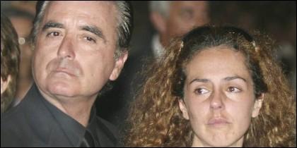 Ortega Cano con Rocío Carrasco.