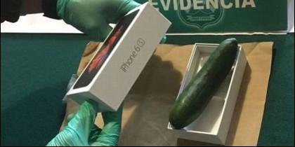 Le mandaron un pepino en lugar de su movil iPhone 6s.