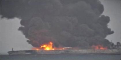 Incendio petrolero