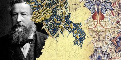 William Morris exposicion cartel