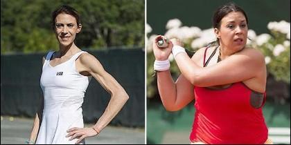 Marion Bartoli en 2016 y ahora, en su peso normal.