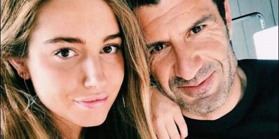 Daniela y su padre Figo