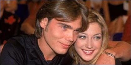 Carlos 'El Yoyas' y su novia Fayna.