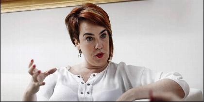 La proetarra Ainhoa Aznárez.